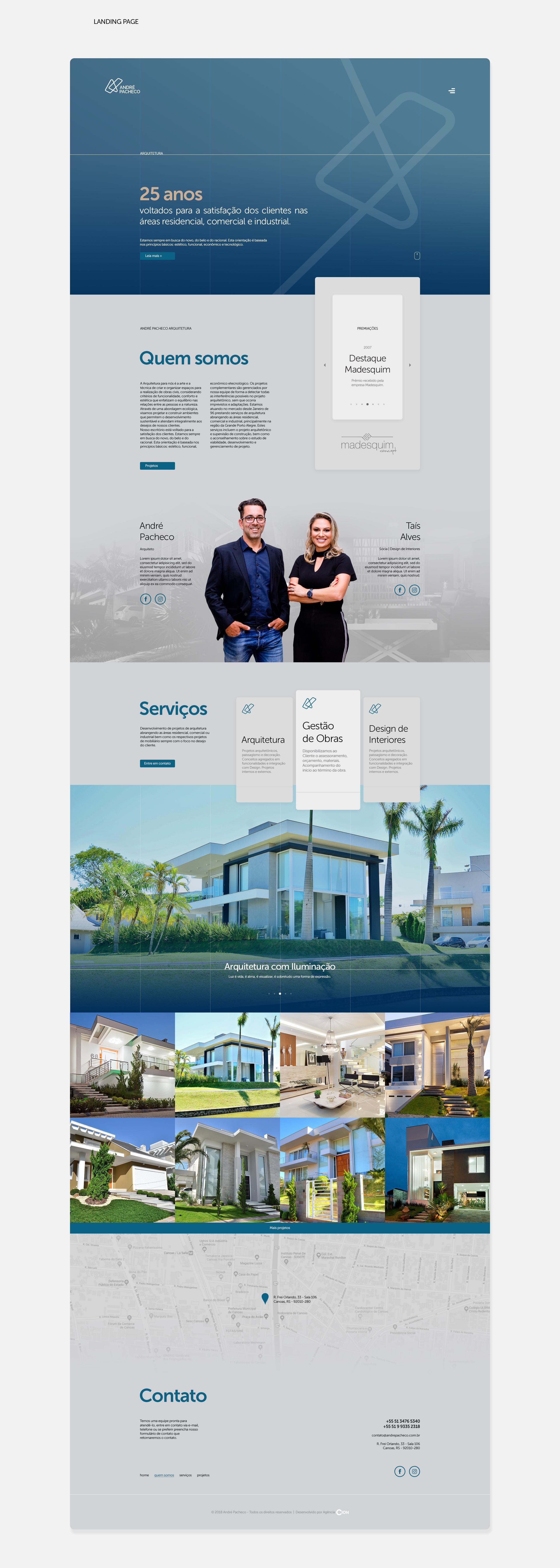 Website André Pacheco