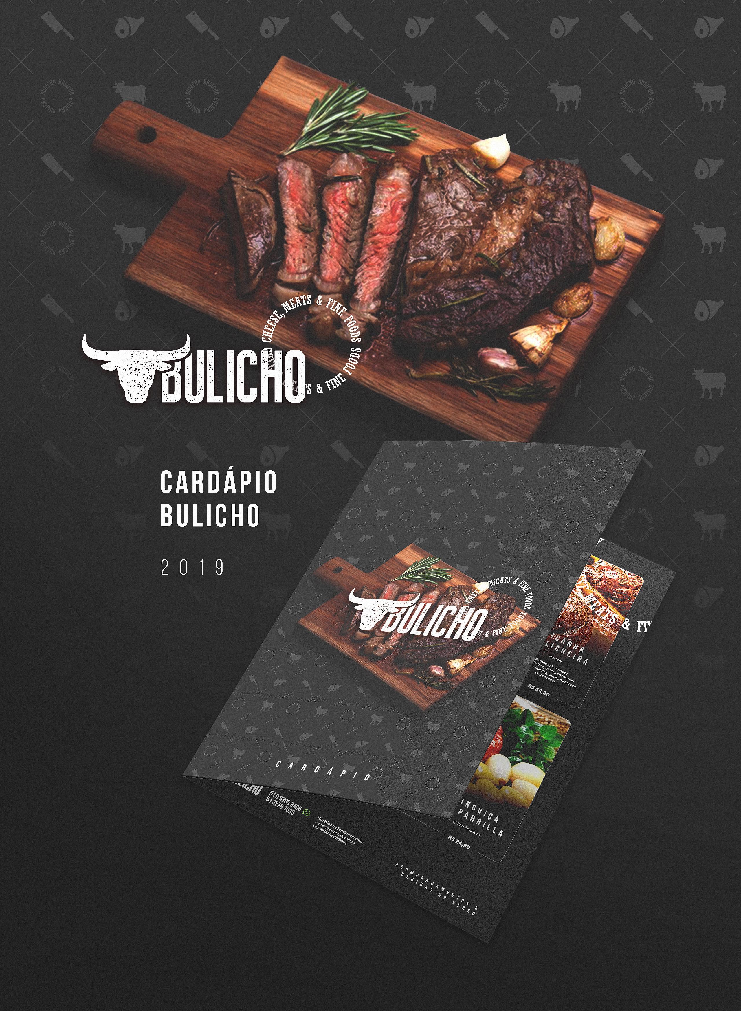 Cardápio Bulicho